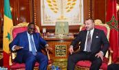 SM el Rey Mohammed VI recibe, en el Palacio Real en Rabat, al Presidente de la República de Senegal, Su Excelencia Macky Sall