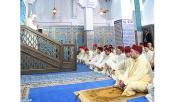 SM el Rey, Amir Al Muminin, cumple la oración del viernes en la Mezquita Mohammed VI en M'diq