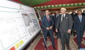 SM el Rey Mohammed VI lanza en Tetuán importantes proyectos de infraestructuras en materialización del programa de desarrollo económico y urbano de la ciudad