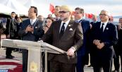 SM el Rey Mohammed VI lanza en la provincia de Sefrú importantes proyectos hidroagrícolas