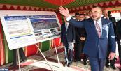 Programa prioritario de modernización de la Gran Casablanca: SM el Rey lanza las obras de habilitación de las explanadas de la cornisa Dar Buazza