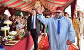 HM King Mohammed VI Chairs in M'Diq Reception on 54th Anniversary of Sovereign