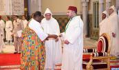 SM el Rey Mohammed VI recibe en el Palacio Real de Casablanca a varios embajadores extranjeros