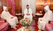 SM el Rey Mohammed VI recibe en el Palacio Real en Casablanca a Mohamed Aoujjar, a quien el Soberano nombró Embajador, Representante Permanente del Reino ante la Oficina de las Naciones Unidas en Ginebra