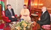 SM el Rey recibe en Casablanca al Soberano del Reino Hachemita de Jordania y a SAR el Príncipe El Hassan Ibn Talal