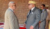 SM el Rey Mohammed VI recibe las felicitaciones del jefe del Gobierno y de personalidades civiles y militares con motivo del 51 cumpleaños del Soberano