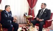 Su Majestad el Rey Mohammed VI recibe, en el Palacio Real de Rabat, Mohamed Nabil Benabdellah, secretario general del Partido del Progreso y Socialismo (PPS)