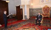 HM King Mohammed VI receives, at the Rabat Royal Palace, Abdellatif Jouahri, Governor of the Bank Al Maghrib (central bank)