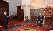 Su Majestad el Rey Mohammed VI recibe, en el Palacio Real de Rabat, a Abdellatif Jouahri, Wali Bank Al-Maghrib (Banco Central)