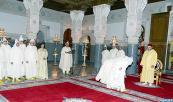 SM el Rey recibe, en el Palacio Real en Fez, a varios walis y gobernadores que el Soberano nombró en diferentes regiones, provincias y prefecturas y en la administración central del Ministerio de Interior