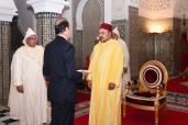 SM el Rey recibe en Tetuán a varios embajadores extranjeros