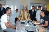 جلالة الملك يدشن مركز الرعاية النفسية للمسنين والبالغين بمستشفى الرازي بسلا
