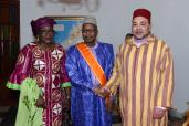 HM the King receives in Bamako former Mali's ambassador to Morocco