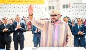 Mohammed V Foundation for Solidarity: HM King Mohammed VI Lays in Tit Mellil (Mediouna Province) Foundation Stone for Medical-Psychological-Social Center