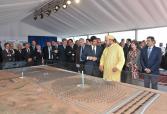 """جلالة الملك يترأس حفل إعطاء انطلاقة أشغال بناء المحطة الأولى لمركب الطاقة الشمسية بورزازات """"نور"""""""