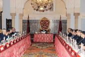 HM The King Chairs Ministers Council