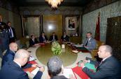 SM el Rey preside en Casablanca una sesión de trabajo dedicada al examen de los diversos aspectos relativos a la problemática de la inmigración en Marruecos (Gabinete Real)