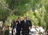 تدشين صاحب الجلالة الملك محمد السادس، نصره الله ، لحديقة التجارب النباتية بالرباط التي خضعت لأشغال كبرى لإعادة تهيئتها.