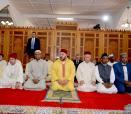 SM el Rey Mohammed VI, Amir Al Muminin (Emir de los Creyentes), realiza la oración del viernes en la mezquita de Antananarivo en Madagascar