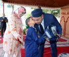 """جلالة الملك يعطي بالدار البيضاء الانطلاقة الرسمية للموسم الدراسي الجديد 2013- 2014 وللمبادرة الملكية """"مليون محفظة"""""""