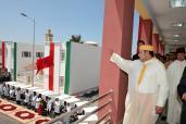 جلالة الملك يدشن عددا من المشاريع المندرجة في إطار التأهيل الحضري لمدينة إمزورن بإقليم الحسيمة