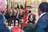 SM el Rey Mohammed VI preside en Rabat la firma de acuerdos sobre el proyecto del gasoducto entre Nigeria y Marruecos y la cooperación marroquí-nigeriana en el ámbito de fertilizantes