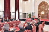 Su Majestad el Rey Mohammed VI presidió, este martes, en el Palacio Marshan en Tánger, un Consejo de ministros.