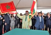 HM King Mohammed VI arrives in Antsirabe