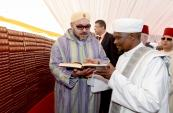 "HM King Mohammed VI Launches the construction works of a new mosque in Dar es Salaam which the sovereign named ""the Mohammed VI Mosque"""