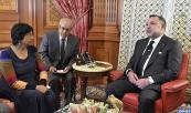 SM el Rey Mohammed VI recibe, en el Palacio Real de Casablanca, a la Alta Comisionada de las Naciones Unidas para los Derechos Humanos, Navi Pillay