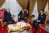 His Majesty King Mohammed VI receives President of the State of Palestine