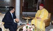HM The King Receives Egypt's Foreign Minister