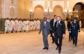 SM el Rey Mohammed VI recibe en el Palacio Real de Casablanca al presidente de la República de Guinea