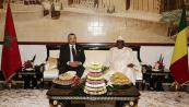 HM The King Holds Private Meeting With Malian President