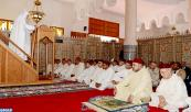 HM King Mohammed VI, Amir Al Mouminine, performes Friday prayers at Omar Ibn Al Khattab Mosque in M'diq (northern Morocco)