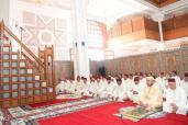 SM el Rey, Amir Al Muminin, cumple la oración del viernes en la mezquita Taha en Casablanca