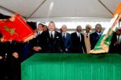 SM el Rey Mohammed VI lanza el proyecto de Punto de Descarga Acondicionado de Pesca Artesanal de Grand Lahou