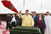 SM el Rey lanza en Casablanca importantes proyectos portuarios