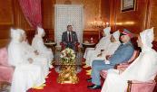 أمير المؤمنين يستقبل أعضاء الوفد الرسمي المتوجه إلى الديار المقدسة لأداء مناسك الحج