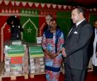 Donation of Two Tons of Medicines to Ivorian Anti-Aids Program