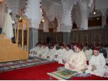 """SM le Roi, Amir Al Mouminine, accomplit la prière du vendredi à la Mosquée """"SAR le Prince Héritier Moulay El Hassan"""" à Marrakech"""