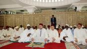 HM the King performs Friday prayer at Great Rivera Mosque in Abidjan