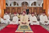 SM el Rey, Amir Al Muminin, cumple la oración del viernes en la mezquita Arridouan en Rabat