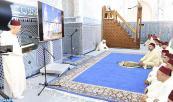 SM el Rey cumple la oración del viernes en la mezquita Mohammed V en Fnideq