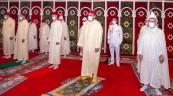 Fez - HM King Mohammed VI, Commander of the Faithful, performs Eid Al Adha Prayer and Sacrifice Ritu