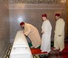 SM el Rey Mohammed VI, Amir Al Muminin (Emir de los Creyentes),preside una velada religiosa por el 18 aniversario de la muerte de SM Hassan II