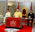HM King Mohammed VI addresses a speech to the Nation on the occasion of the 63rd anniversary of the Revolution of the King and the People