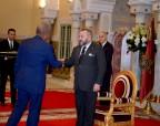SM el Rey Mohammed VI recibe al embajador de Estados Unidos al término de su misión en Marruecos