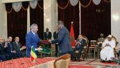 HM the King and Malian Pres. chair signing ceremony of seventeen bilateral cooperation agreements