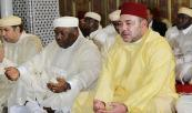 HM the King, Gabonese President perform Friday prayer at Hassan II mosque in Libreville